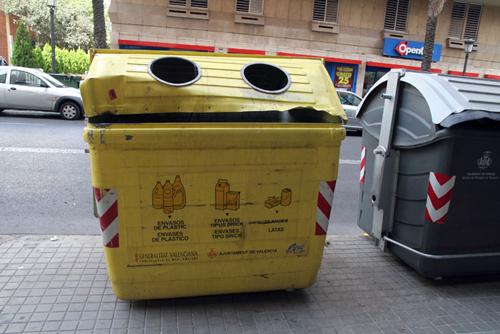 cubo recicla